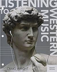 LISTENING TO WESTERN MUSIC-TEXT         N/A 9781305587014 Front Cover