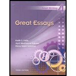 Great Essays  3rd 2009 edition cover