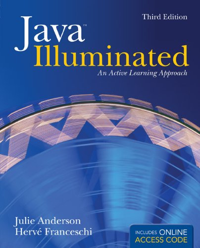 Java Illuminated An Active Learning Approach 3rd 2012 edition cover