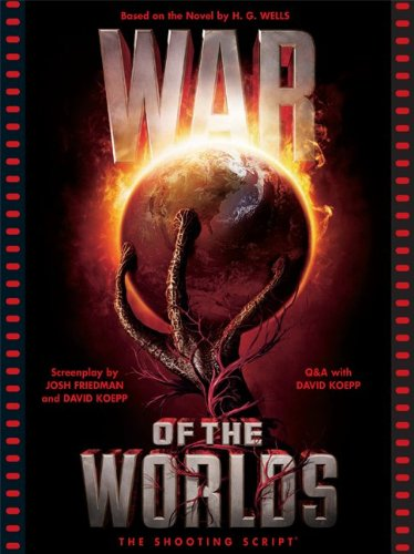 War of the Worlds The Shooting Script  2005 edition cover