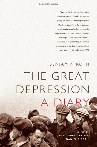 Great Depression A Diary  2010 edition cover