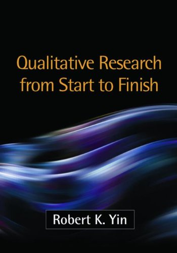 Qualitative Research from Start to Finish   2011 edition cover