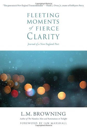 Fleeting Moments of Fierce Clarity Journal of a New England Poet  2012 9781938846014 Front Cover
