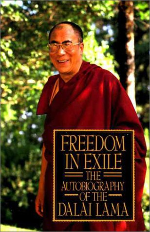 Freedom in Exile The Autobiography of the Dalai Lama Reprint  edition cover