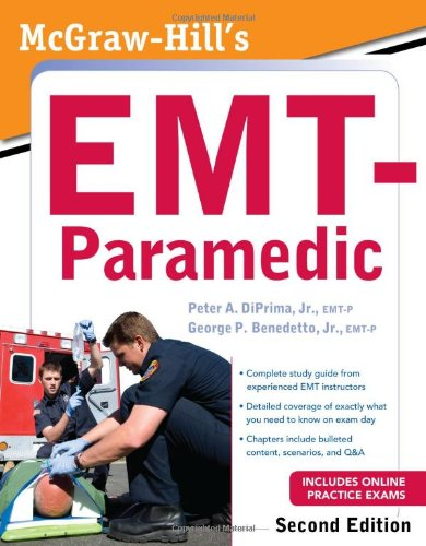 McGraw-Hill's EMT-Paramedic, Second Edition  2nd 2011 edition cover