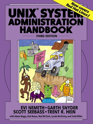 UNIX System Administration Handbook  3rd 2001 (Revised) edition cover