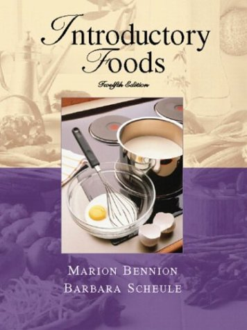 Introductory Foods  12th 2004 (Revised) edition cover