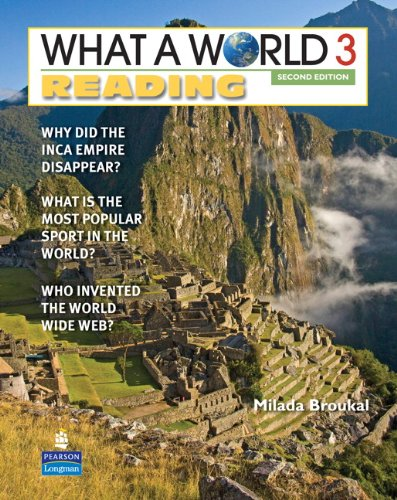 What a World Reading 3 Amazing Stories from Around the Globe 2nd 2011 edition cover