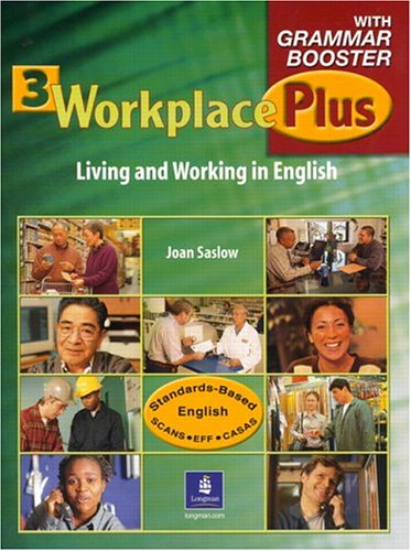 Workplace Plus 3 with Grammar Booster   2005 9780131928015 Front Cover