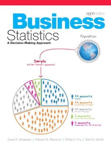 Business Statistics A Decision Making Approach 8th 2011 edition cover