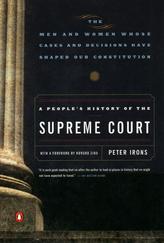 People's History of the Supreme Court   1999 9780140292015 Front Cover