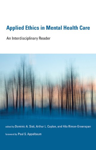 Applied Ethics in Mental Health Care An Interdisciplinary Reader  2014 9780262525015 Front Cover