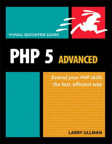 PHP 5 Advanced Visual Quickpro Guide 2nd 2007 (Revised) edition cover