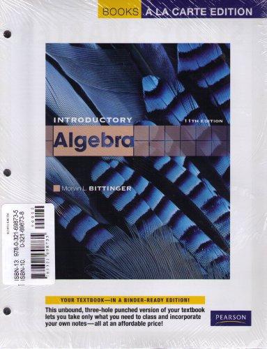 Intermediate Algebra  11th 2012 edition cover