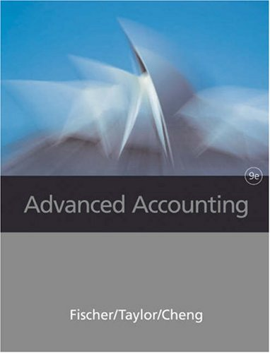 Advanced Accounting  9th 2006 edition cover