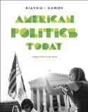 American Politics Today: 4th 2014 edition cover
