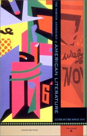 Norton Anthology of American Literature American Literature since 1945 6th 2002 edition cover