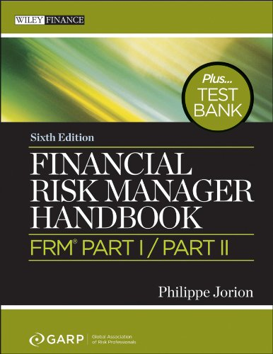 Financial Risk Manager Handbook  6th 2011 (Handbook (Instructor's)) edition cover