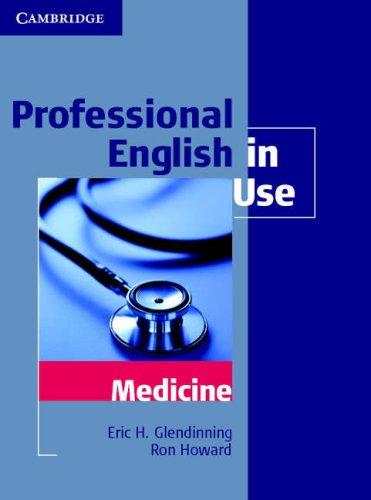 Professional English in Use - Medicine   2007 edition cover