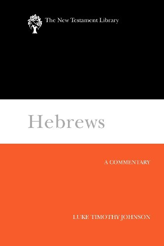 Hebrews A Commentary N/A edition cover