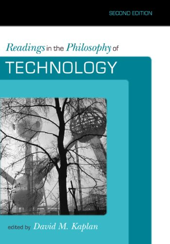 Readings in the Philosophy of Technology  2nd 2009 edition cover