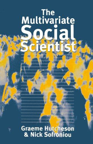 Multivariate Social Scientist Introductory Statistics Using Generalized Linear Models  1999 edition cover