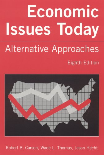 Economic Issues Today Alternative Approaches 8th 2005 (Revised) edition cover