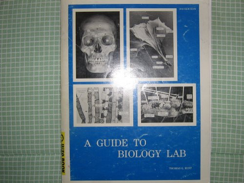 Guide to Biology Lab 3rd (Revised) edition cover