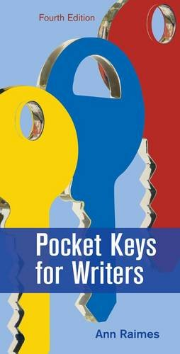 Pocket Keys for Writers  4th 2013 edition cover