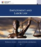 Employment and Labor Law:   2016 9781305580015 Front Cover