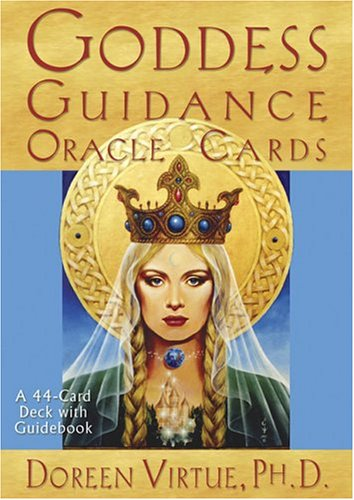 Goddess Guidance Oracle Cards  N/A 9781401903015 Front Cover
