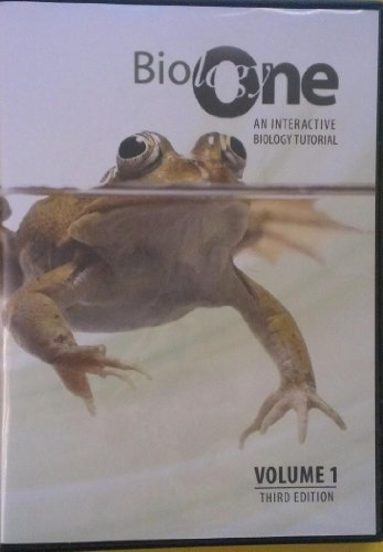 Biology One An Interactive Biology Tutorial 3rd (Revised) edition cover