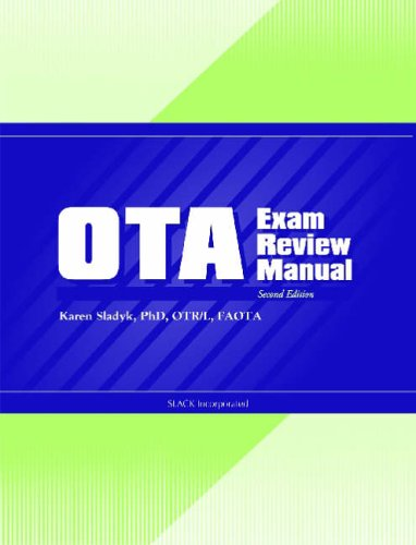 OTA Exam Review Manual  2nd 2005 edition cover