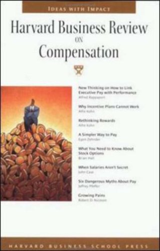 Harvard Business Review on Compensation   2001 9781578517015 Front Cover