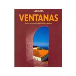 Ventanas Lengua With Supersite Passcode 2nd 2008 (Student Manual, Study Guide, etc.) edition cover