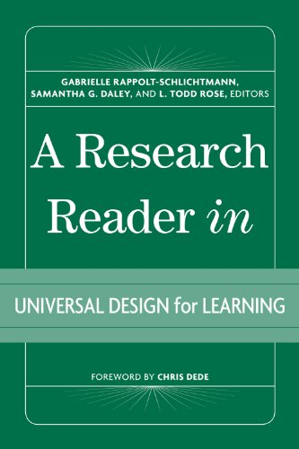 Research Reader in Universal Design for Learning   2012 edition cover