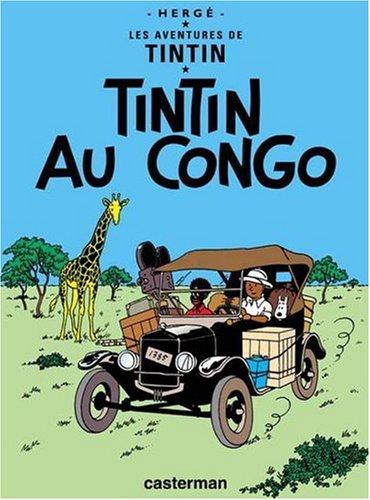 Tintin au Congo   2004 edition cover