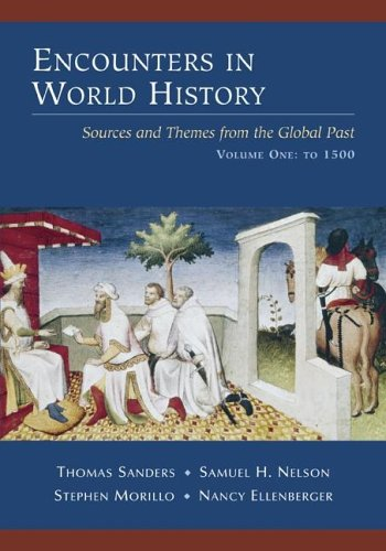 Encounters in World History Sources and Themes from the Global Past  2006 edition cover