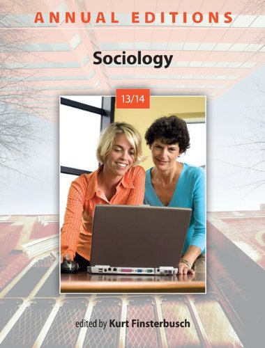 Sociology 13/14:  41st 2013 edition cover