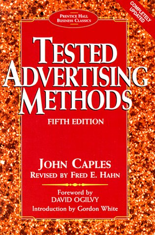 Tested Advertising Methods  5th 1998 (Revised) edition cover