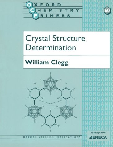 Crystal Structure Determination   1998 edition cover
