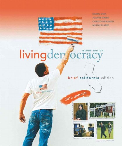 Living Democracy, 2010 Update, Brief California Edition  2nd 2011 9780205792016 Front Cover