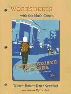 Worksheets with the Math Coach for Intermediate Algebra  7th 2013 (Revised) edition cover
