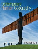 Contemporary Human Geography  3rd 2016 edition cover