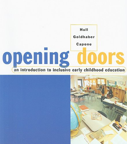 Opening Doors An Introduction to Inclusive Early Childhood Education  2002 edition cover
