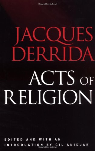 Acts of Religion   2002 edition cover