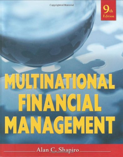 Multinational Financial Management  9th 2010 9780470415016 Front Cover