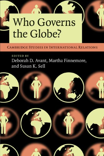 Who Governs the Globe?   2010 edition cover
