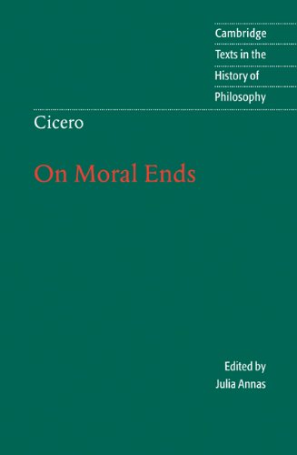 Cicero On Moral Ends  2001 edition cover