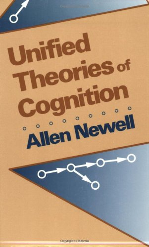 Unified Theories of Cognition   1990 edition cover